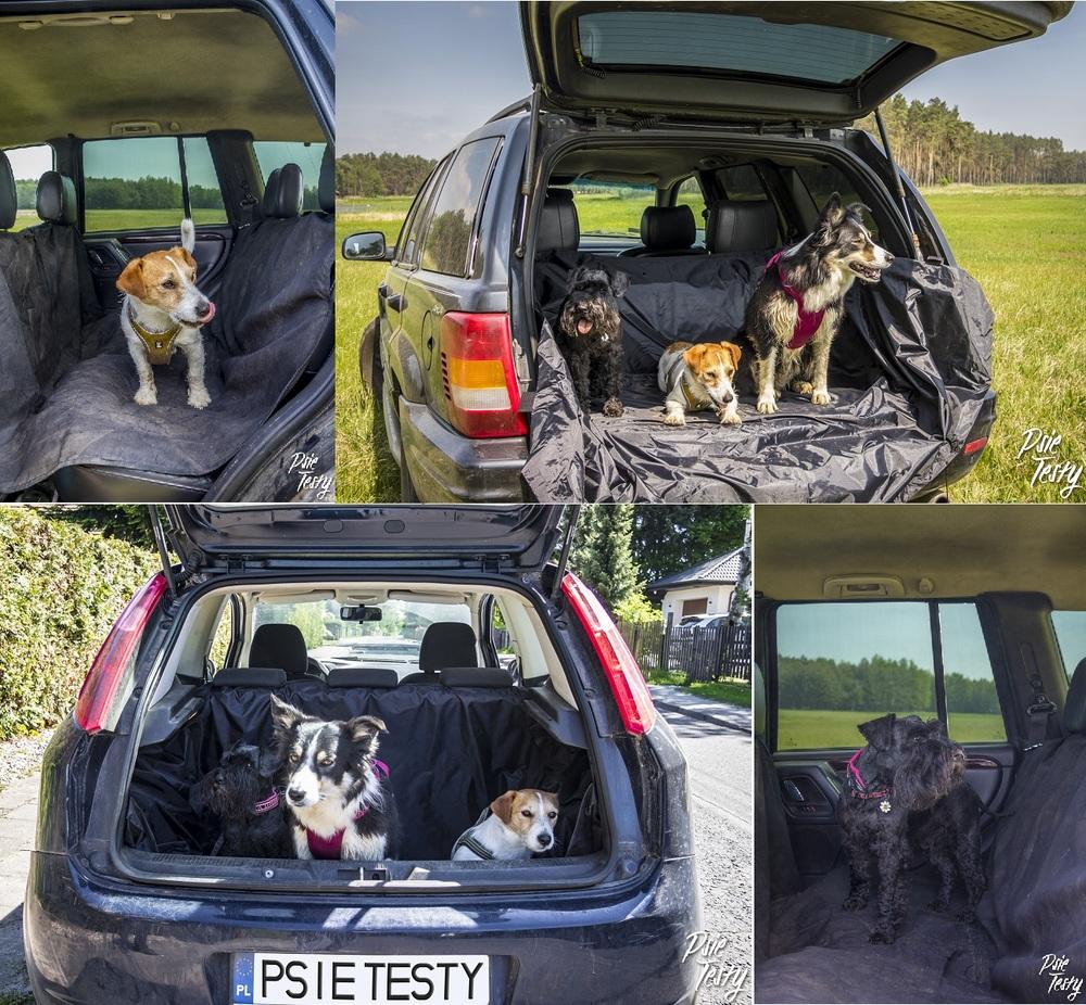 Bagażnik auta można wyściełać specjalnymi matami.