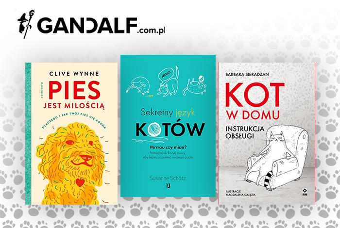 Książki o zwierzętach na Gandalf.