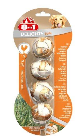 8IN1 Przysmak dla psa Delights Balls kurczak S