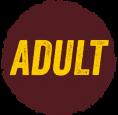 Adult brąz