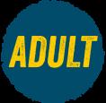 Adult niebieski