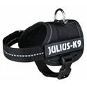 Szelki julius-k9 XL 82–118 cm czarne