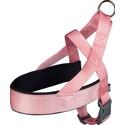 Uprząż Premium, L: 60–76 cm/40 mm, Różowa