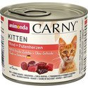 Carny Puszka Kitten Wołowina/Serce Indyka 200 g