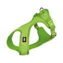 Miękka Uprząż XS–S: 30–45 cm/15 mm Zielona