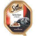 85g Selection in Sauce - mokra karma dla kotów z kawałkami wołowiny w sosie