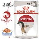 12x85 g Instinctive w galaretce karma mokra w galaretce dla kotów dorosłych, wybrednych