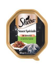 Sauce Speciale 85gx22 z Królikiem, Kaczką i Warzywami - mokra karma dla kotów w sosie