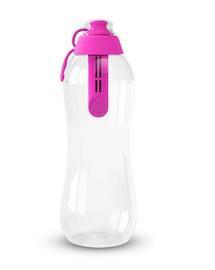 Butelka filtrująca 0,7 l flamingowa + 2 wkłady