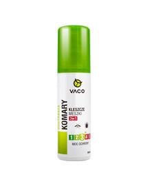 VACO Płyn na komary, kleszcze i meszki 100 ml