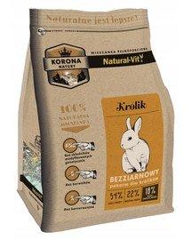 Korona Natury Mieszanka pełnoporcjowa dla królika 10 kg
