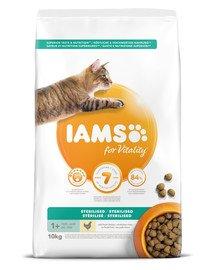 for Vitality o obniżonej zawartości tłuszczu dla dorosłych kotów po sterylizacji 10 kg