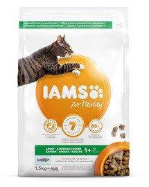 for Vitality dla dorosłych kotów z rybami oceanicznymi 1,5 kg