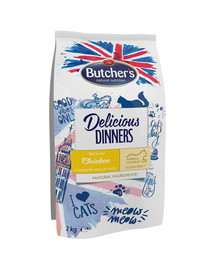 Delicious Dinners Cat dry Chicken 2 kg