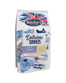 Delicious Dinners Cat dry Lamb 2kg