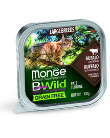 BWild Cat grain free Large breeds bawół 100g