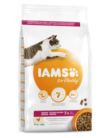 For Vitality Cat Senior Chicken 3 kg