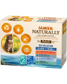 Naturally Cat Adult Sea Collection 12 x 85 g