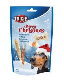Prezent świąteczny dla psa, 6szt./156 g