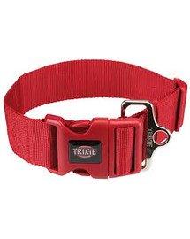 Obroża Premium XXL, M–L: 40–60 cm/50 mm, czerwona