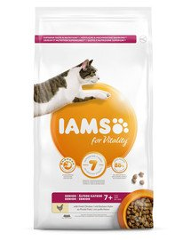 For Vitality sucha karma dla kotów Mix smaków 100 g dla seniorów/dla kastratów/na kule włosowe