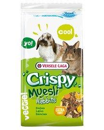 Crispy Muesli Rabbits 400 g mieszanka dla królików miniaturowych