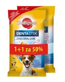 DentaStix (małe rasy) przysmak dentystyczny dla psów 7 szt. - 110gx5 1 + 50% GRATIS