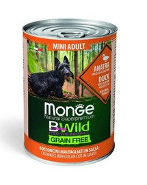 BWild grain free Mini Adult kaczka 400g