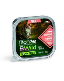 BWild Cat grain free Adult łosoś 100 g