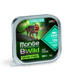 BWild Cat grain free Sterilised tuńczyk 100g