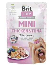 Care Mini 85 g mokra karma dla psów ras małych
