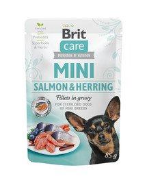 Care Mini Sterilised 85 g mokra karma dla psów ras małych kastrowanych