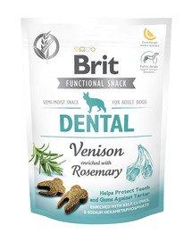 Care Dog Functional snack Dental Venison 150 g przysmaki na zdrowe zęby dla psów
