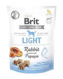 Care dog Functional snack light rabbit 150 g niskokaloryczne przysmaki dla psa