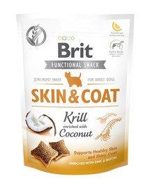 Care Dog Functional Snack skin&coat Krill 150 g przysmaki na skórę i sierść dla psa