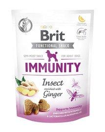 Care Dog Functional Snack immunity insect 150 g przysmaki z owadami na odporność dla psa