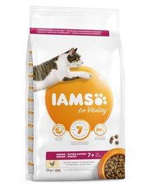 For Vitality Cat Senior Chicken 3 kg