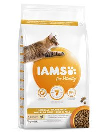 For Vitality Cat Adult Hairball Chicken 3 kg