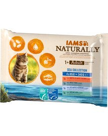 Naturally Cat Adult Sea collection 4 x 85 g