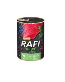 RAFI Game z dziczyzną 400 g mokra karma dla psa