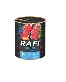 RAFI Lamb z jagnięciną 800 g mokra karma dla psa