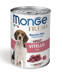 Fresh Dog Adult Cielęcina w cieście 400g