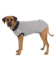 Ubranko ochronne dla psów szare XL: 70 cm