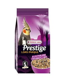 Australian Parakeet Loro Parque Mix 2,5kg pokarm dla średnich australijskich papug