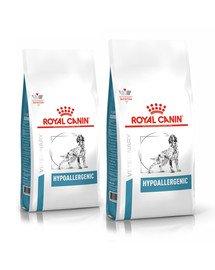 ROYAL CANIN Dog Hypoallergenic 28 kg (2 x 14 kg) sucha karma dla dorosłych psów z niepożadanymi reakcjami na pokarm