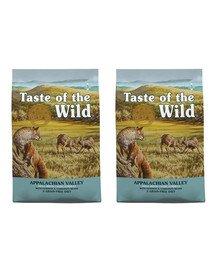 TASTE OF THE WILD Appalachian Valley Małe Rasy 24,4 (2 x 12,2 kg) z jeleniem i ciecierzycą