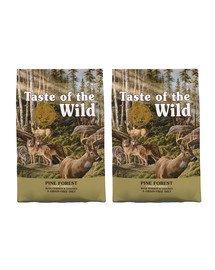 TASTE OF THE WILD Pine Forest 24,4 kg (2 x 12,2 kg) z jeleniem i warzywami strączkowymi