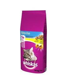 Sterile 14 kg - sucha karma dla kotów po sterylizacji z kurczakiem