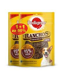 Ranchos Originals Cuts 65g x 3 - przysmak dla psów z kurczakiem 1 + 50% GRATIS