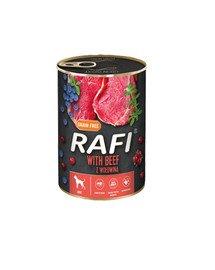 RAFI Beef z wołowiną 400 g mokra karma dla psa
